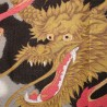 Polyester Noren - Great dragon and Mt Fuji