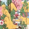 Tenugui Collection Fuku Neko - Hanami