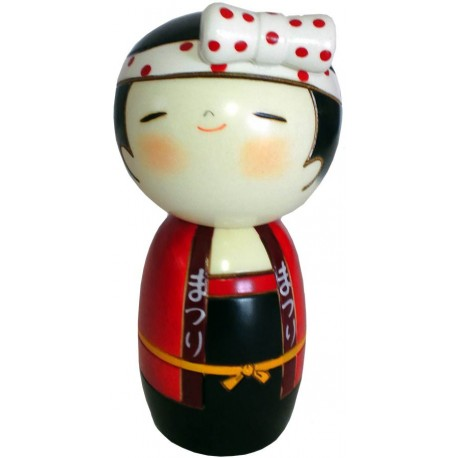 Kokeshi doll - Heave-Ho ! - Woman