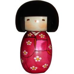 Kokeshi doll - Flowers garden