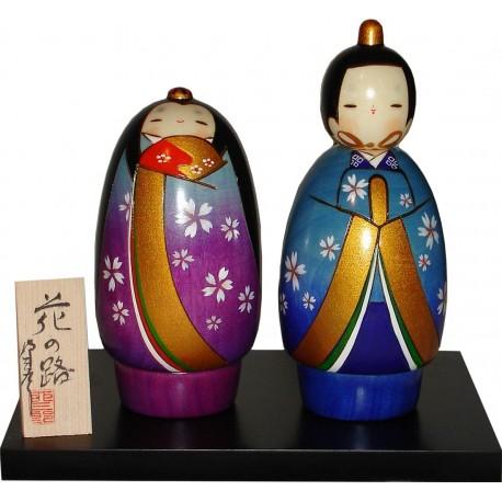 Poupée Kokeshi - Hananomichihina