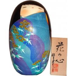 Poupée Kokeshi - L'âme des fleurs
