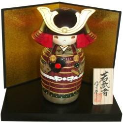 Poupée Kokeshi - Jeune guerrier