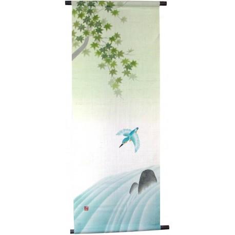 Hanging tapestry - Kawasemi - 45x120