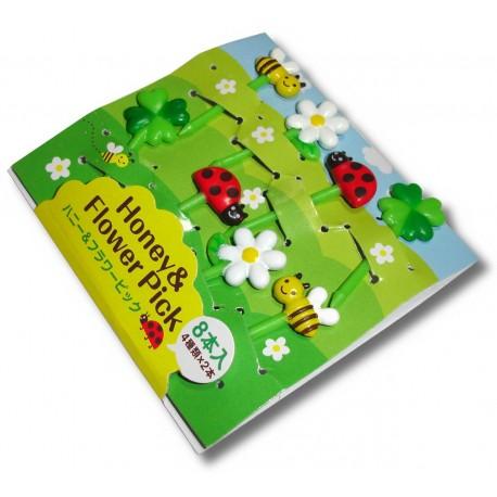 Bento accessories - Honey & Flower decorative picks