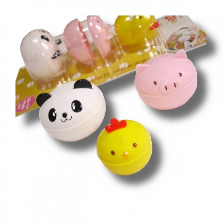 Donburi Animals cups - 3pcs