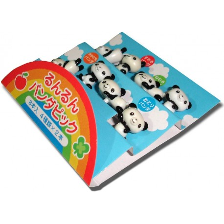 Bento accessories - Runrun Panda decorative picks