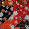 Chaussettes Tabi - Du 35 au 39 - Mont Fuji et fleurs de cerisier Sakura