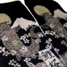 Chaussettes tabi - Du 39 au 43 - Mont fuji, carpes et fleurs de cerisier sakura