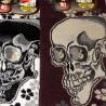 Tabi mi-mollet - Du 39 au 43 - Motifs de crânes