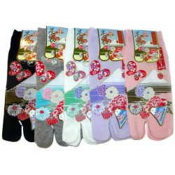 Tabi socks - Size 35 to 39 - Fuji Kiku