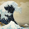 Furoshiki 67x67 - Hokusaï's Great Wave