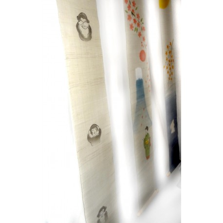 Slim hanging tapestry - Sanzaru