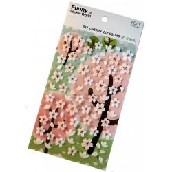 Sakura 3D stickers - Cherry blossoms