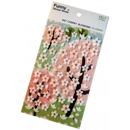 Stickers Sakura - Fleurs de cerisiers