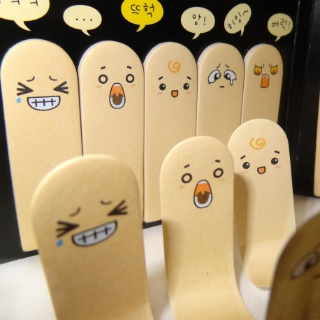 Post-it Fingers Emotions