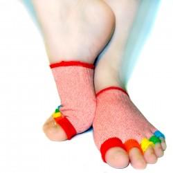 Demi-chaussettes yoga et pilates - Du 35 au 39 - Colors