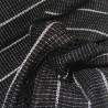 Jinbei 84 noir - Taille M - Coton et Lin