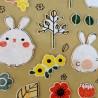 Stickers Usagi  & Co - Papèterie japonaise et coréenne