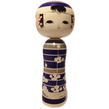 Poupée Kokeshi - Ume Emaki - Kokeshi en bois