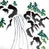 Tenugui réversible - Koi no Taki Nobori