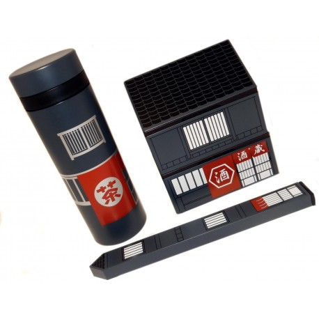 Bento Set Machiya - a great gift for bento boxes lovers.