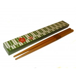 Chopsticks with box set - Yagasuri Ume