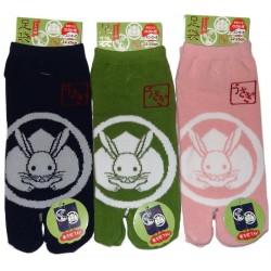 Chaussettes japonaises Tabi - Du 35 au 39 - Usagi Kamon