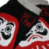 No-Show socks Size 39 to 43 - Daruma print
