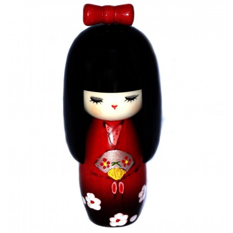 Kokeshi doll - Mai. Japanese wooden dolls.