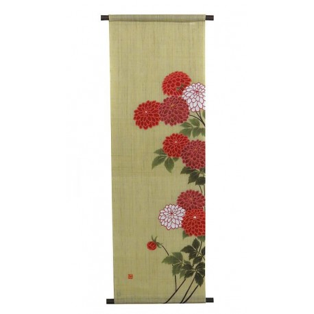 Hanging tapestry - Dahlia - 45x135