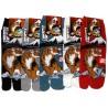 Chaussettes japonaises Tabi - Du 39 au 43 - Fuji et Tigre. Chaussettes à orteils séparés.