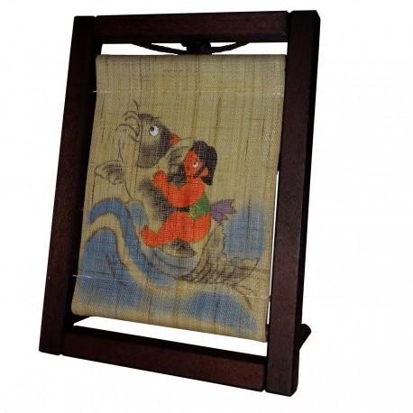 Mini tapisserie et cadre - Kintaro - 17x10