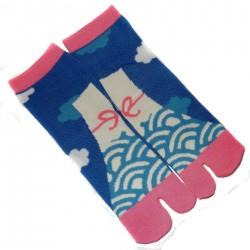 Tabi socks - Size 35 to 39 - Mount Fuji prints