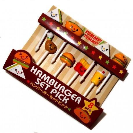 Bento accessories - Fast food decorative picks