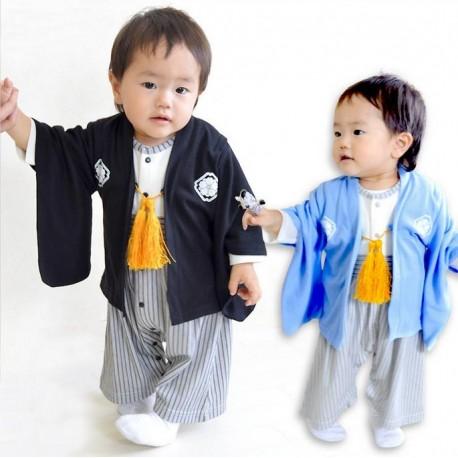 Barboteuse style Kimono - Garçons