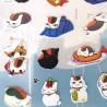 Stickers Kawaii Neko