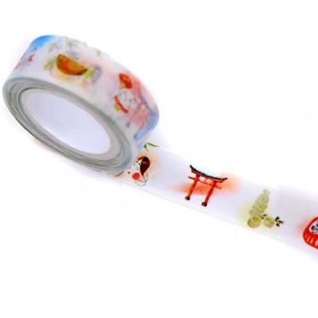 Masking paper tape Fuku ga Ippai