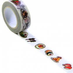 Masking paper tape Sushi & Co