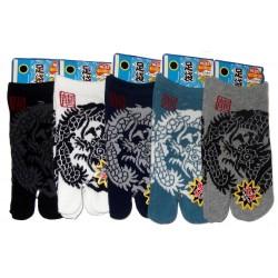 Chaussettes tabi enfants - Pointure 26 à 35 - Dragon