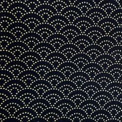 Textile cut 200 x 110 cm - Seigaha patterns