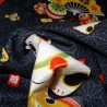 Furoshiki Japanese cloth 50x50 dark blue - Maneki Neko