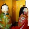 Kokeshi dolls - Tachibina. Traditional Japanese wooden dolls.