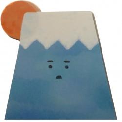 Mount Fuji sticky memo