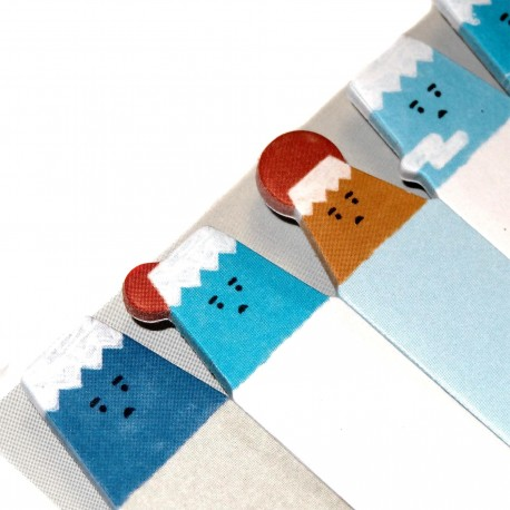 Mount Fuji sticky bookmarks. Buy japanese stationery products.
