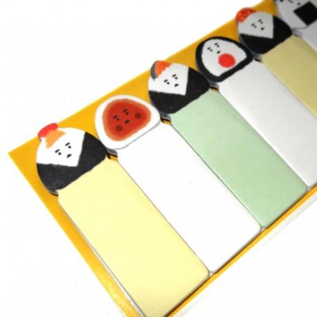 Post-it marque-page Onigiri. Produits et articles de papèterie japonaise.