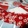 Chaussettes japonaises Tabi - Du 35 au 39 - Tsuru Fuji. Chaussettesà orteils séparés.