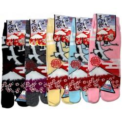 Tabi socks - Size 35 to 39 - Tsuru Fuji