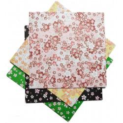 Papier origami 15 x 15 cm - 100 feuilles motifs Sakura