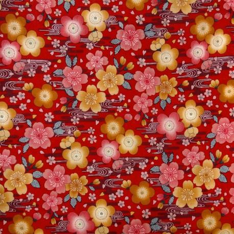 Coupon de tissu et textile japonais 110 x 200 cm